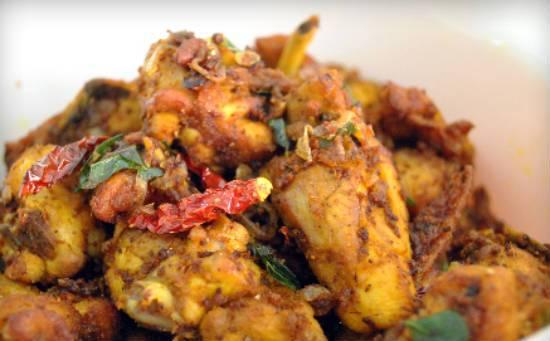 banana leaf chicken varuval - Banana Leaf Chicken Varuval