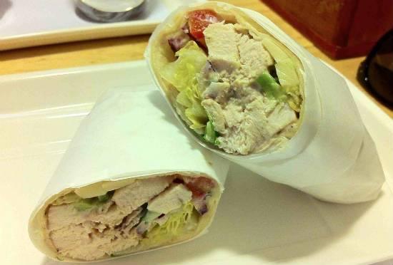 Chicken and Avocado Wrap