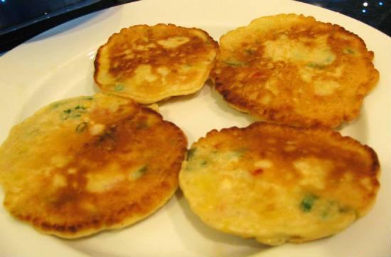 Sweet Corn Pancake Recipe