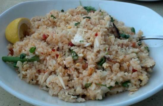 crab fried rice - Crab Fried Rice