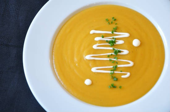 spiced carrot soup - Spiced Carrot Soup