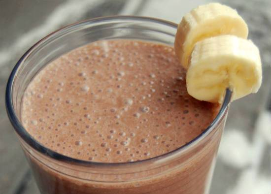Banana Chocolate Milkshake