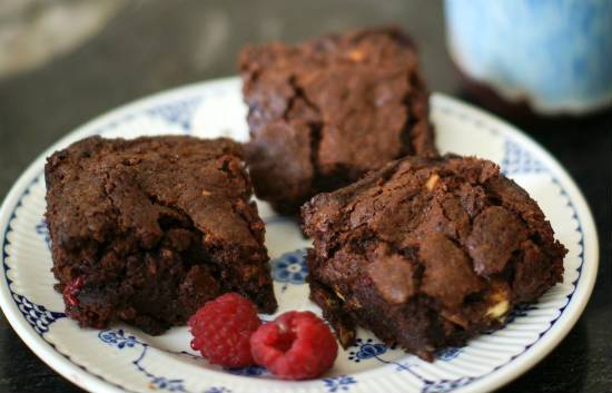 chocolate raspberry brownies - Chocolate Raspberry Brownies