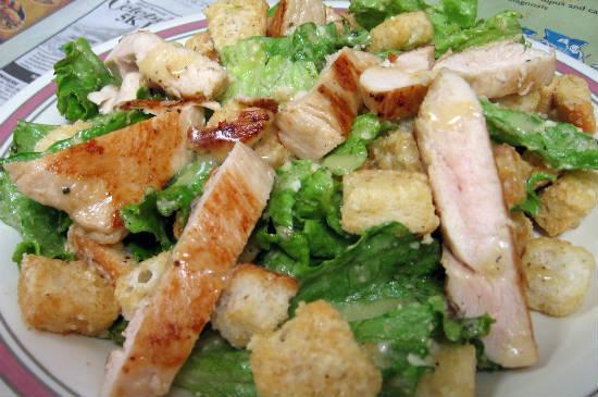 grilled chicken caesar salad - Grilled Chicken Caesar Salad