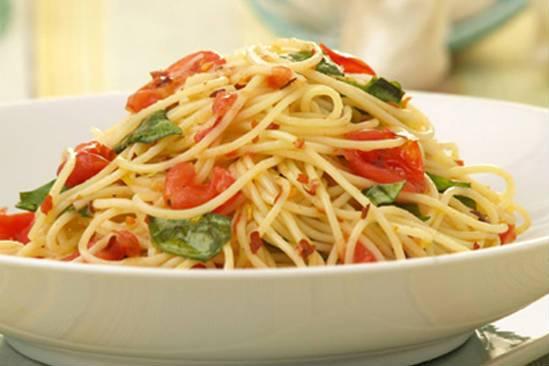Tomato Garlic Pasta