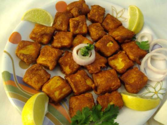 ginger garlic paneer - Ginger Garlic Paneer