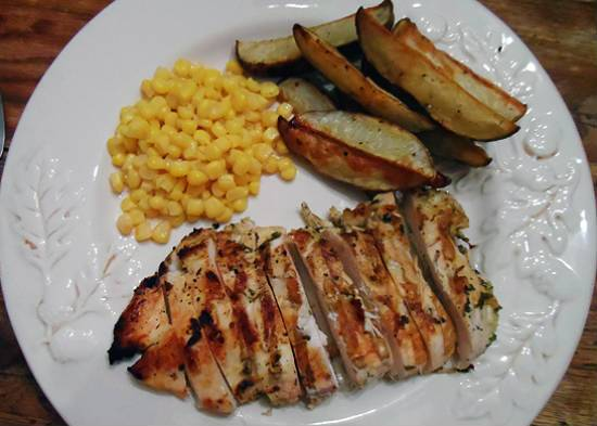grilled chicken with lime and coriander - Grilled Chicken with Lime and Coriander