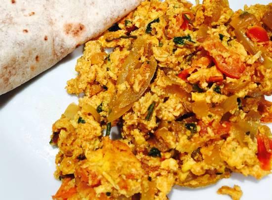spicy scrambled eggs - Spicy Scrambled Eggs