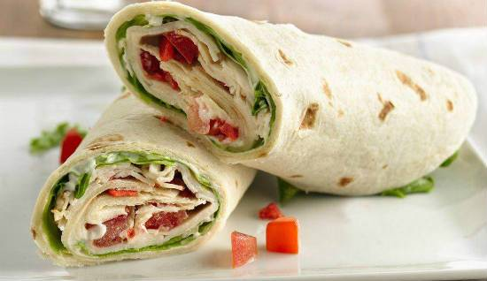 tandoori chicken wraps - Tandoori Chicken Wraps