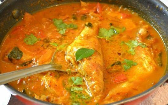 chettinad meen kuzhambu chettinad fish curry - Chettinad Meen Kuzhambu (Chettinad Fish Curry)