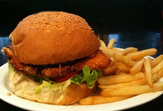 Chicken Tikka Burger
