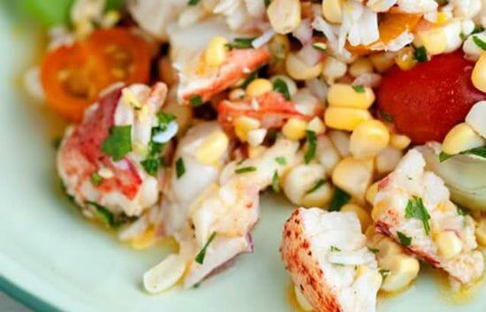 Lobster Corn Salad