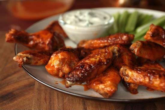 Spicy Mustard Chicken Wings