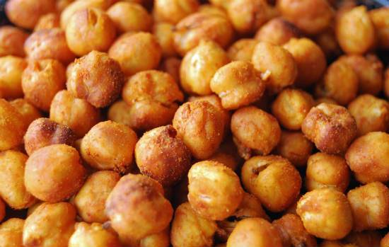 spiced chickpeas - Spiced Chickpeas