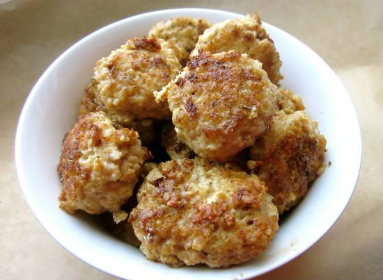 chicken meatballs - Chicken Meatballs