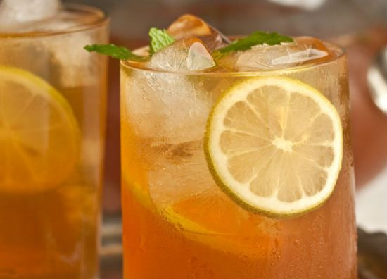 Mint and Ginger Iced Tea