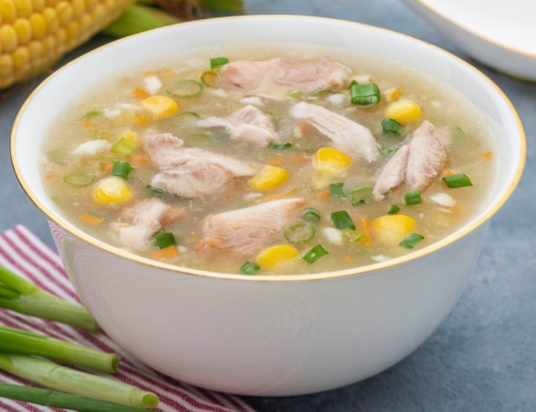 sweet corn chicken soup - Sweet Corn Chicken Soup