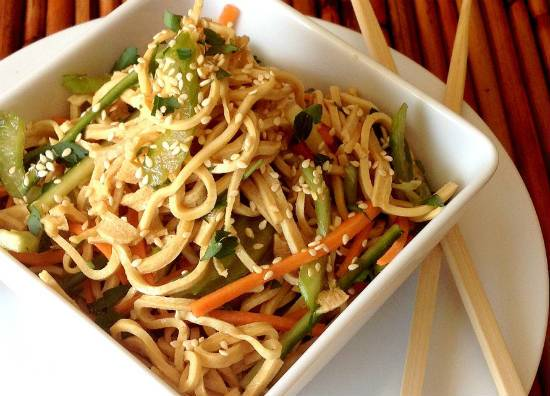 Tofu Noodle Salad Recipe