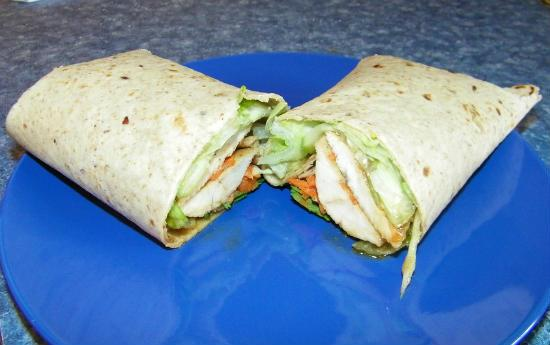 vietnamese chicken wraps - Vietnamese Chicken Wraps