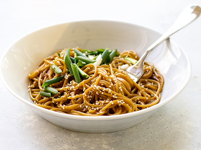 Sesame Noodles 3 tastyrecipes - Sesame Noodles