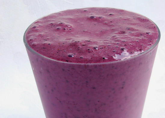 blueberry milkshake - Blueberry Milkshake