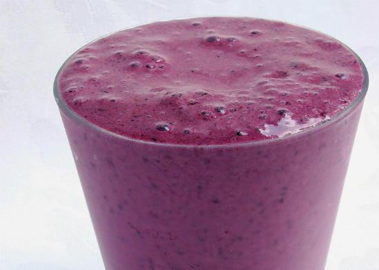 blueberry milkshake - Blueberry Milkshake