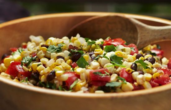 grilled corn and tomato salsa - Grilled Corn and Tomato Salsa