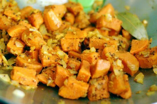 Bombay Sweet Potatoes