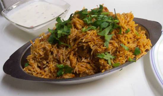 mutton biryani - Mutton Biryani with Coconut Milk