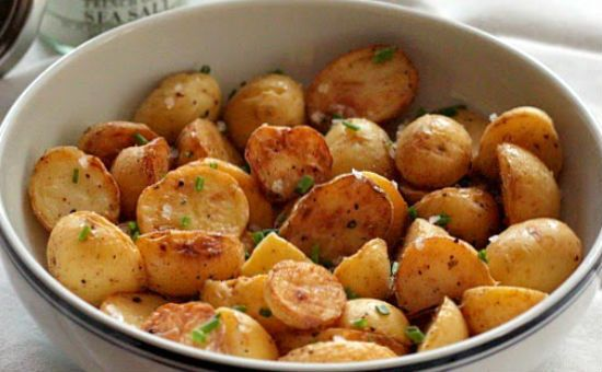 salt vinegar potatoes - Salt and Vinegar Potatoes