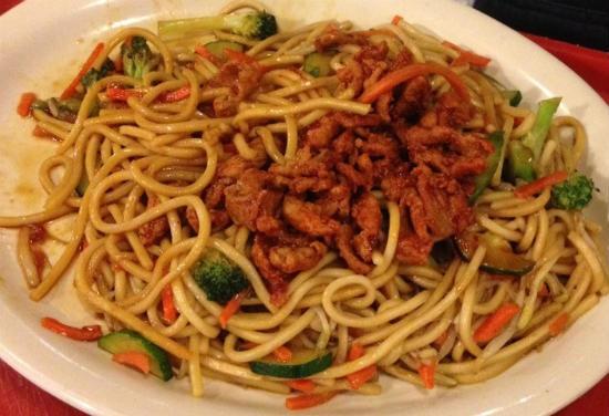spicy pork noodles - Spicy Pork Noodles