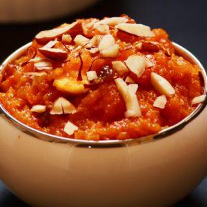 Carrot Halwa (Gajar Halwa)