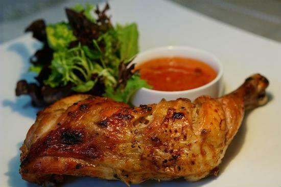 gai yang thai style grilled chicken - Thai style Grilled Chicken