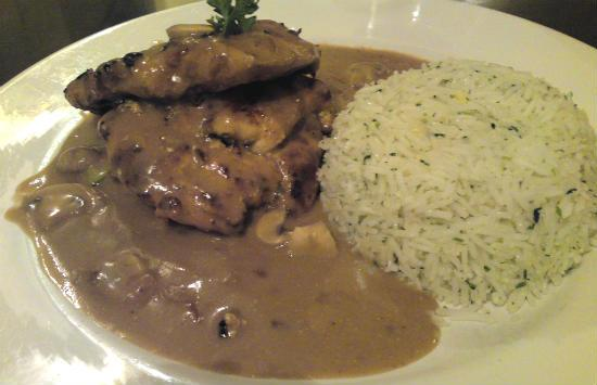 grilled chicken with mushroom sauce - Grilled Chicken with Mushroom Sauce