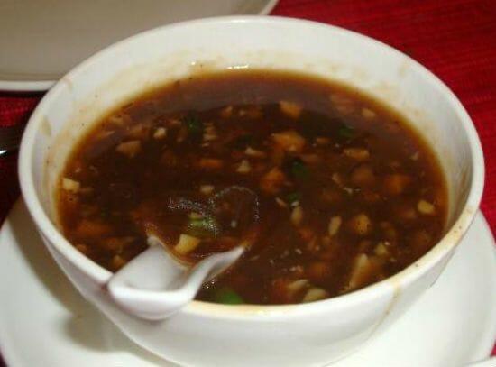 Mushroom Pepper Soup