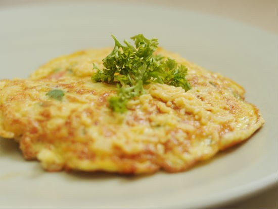omelette - Chilli Cheese Omelette