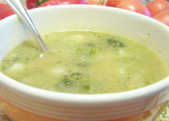 potato and broccoli soup - Potato and Broccoli Soup