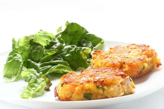 crab cakes - Sweet Chilli Crab Cakes