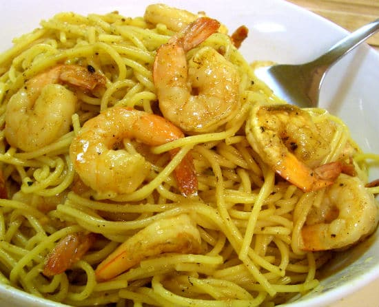 garlic butter shrimp pasta - Garlic Butter Shrimp Pasta