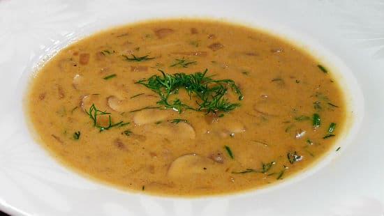hungarian mushroom soup - Hungarian Mushroom Soup
