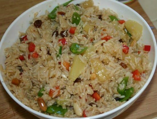 Indonesian Rice Salad