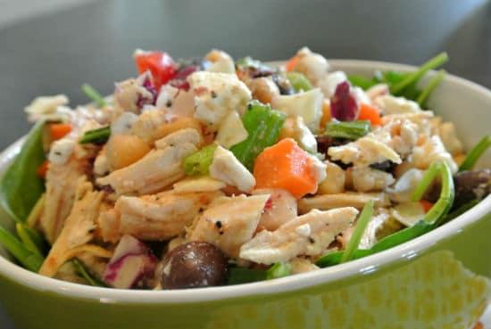 mediterranean chicken salad - Mediterranean Chicken Salad