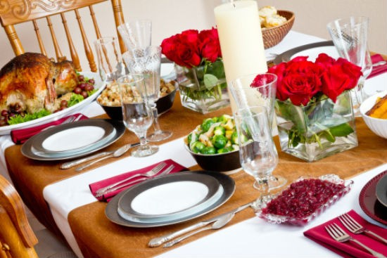 christmas dinner table - Tips for the Perfect Christmas Dinner