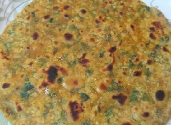 coriander roti - Coriander Roti (Coriander Chapati)
