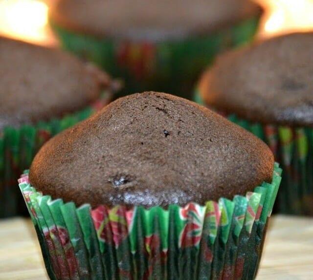 eggless chocolate cupcake - Eggless Chocolate Cupcake