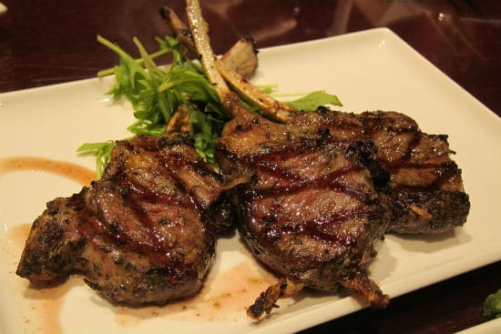 Mint Lamb Lollipops