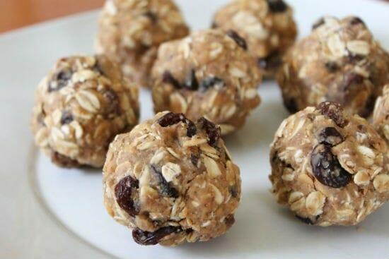peanut butter oat balls - Peanut Butter Oat Balls