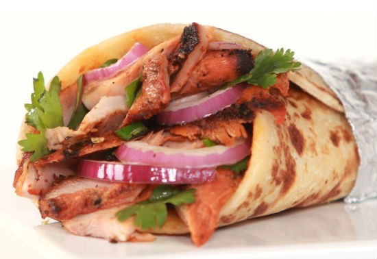 chicken tandoori wrap - Chicken Tandoori Wrap