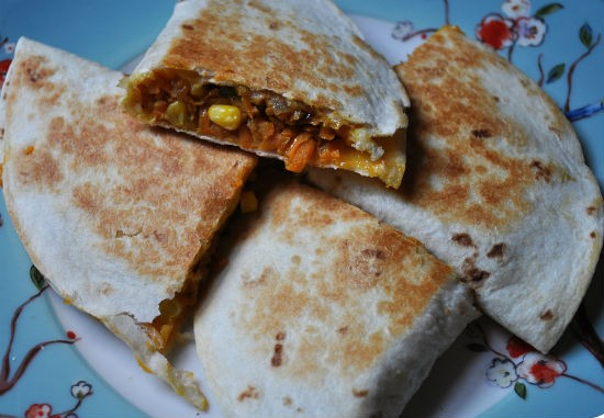 sweet potato quesadillas - Sweet Potato Quesadillas
