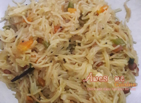Vegetable Semiya Pulao